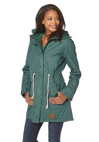 kangaroos toller damen parka gr 34 gr n outdoorjacke. Black Bedroom Furniture Sets. Home Design Ideas