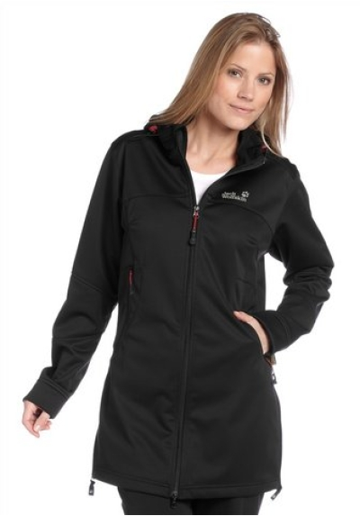 Jack wolfskin sonic youth softshell damen jacke mantel