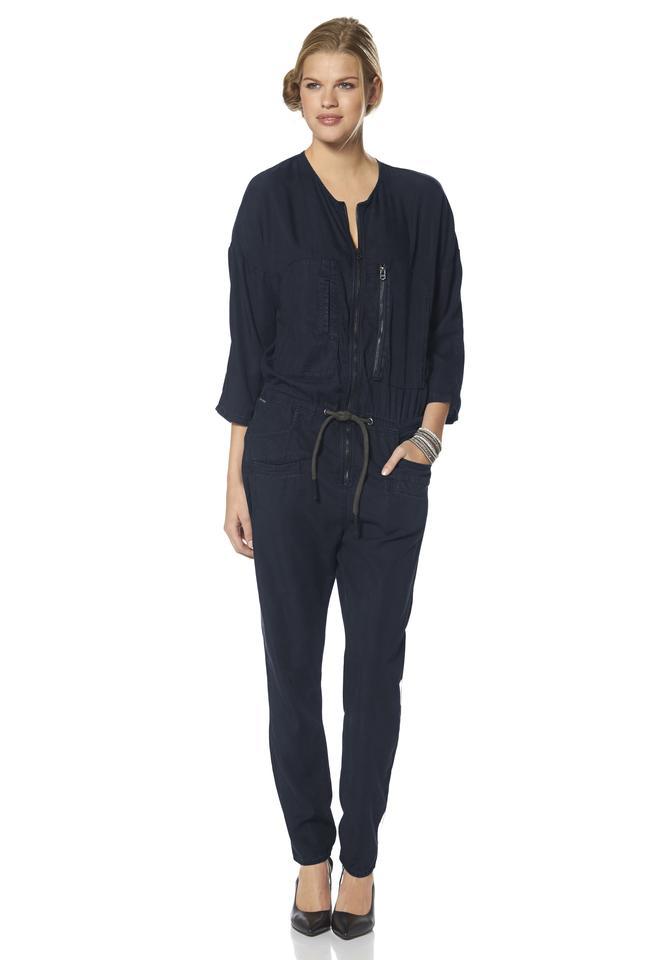 g star damen overall davin rw boiler suit gr s dunkelblau jumpsuit neu ebay. Black Bedroom Furniture Sets. Home Design Ideas