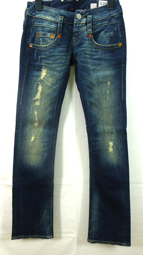 herrlicher 5003 se ora el sticos jeans pitch talla 24 30. Black Bedroom Furniture Sets. Home Design Ideas