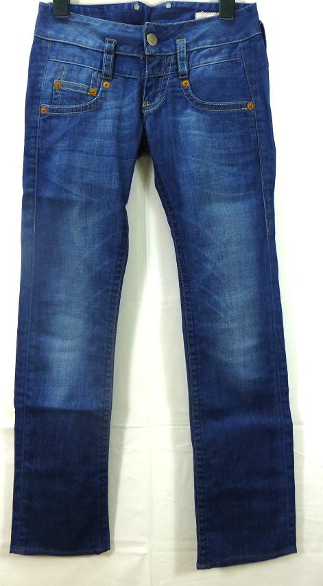 herrlicher 5003 damen stretch jeans pitch gr 25 34 blau. Black Bedroom Furniture Sets. Home Design Ideas