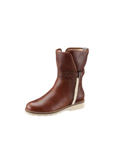 marco polo damen boots stiefel gr 37 uk 4 cognac leder. Black Bedroom Furniture Sets. Home Design Ideas