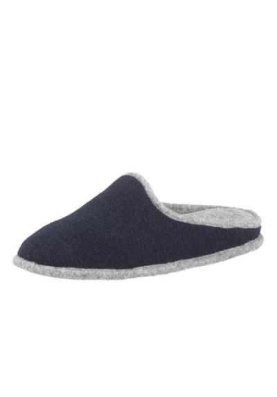 hush puppies tolle damen pantoffel gr 37 navy blau hausschuhe textil neu ebay. Black Bedroom Furniture Sets. Home Design Ideas