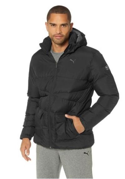 puma ess bulky jacket herren winterjacke gr s 44 46. Black Bedroom Furniture Sets. Home Design Ideas